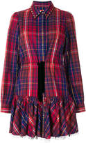 Tommy Hilfiger checked shirt dress