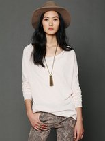 Free People Cowl Neck Pullover