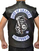 Chicago Jax Teller Sons of Anarchy Biker Leather Vest