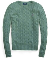 Thumbnail for your product : Ralph Lauren Cable Wool Crewneck Sweater