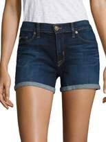 Hudson Mid Rise Cuffed Shorts