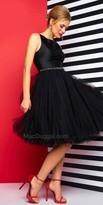 Mac Duggal Tulle Knee Length Dress