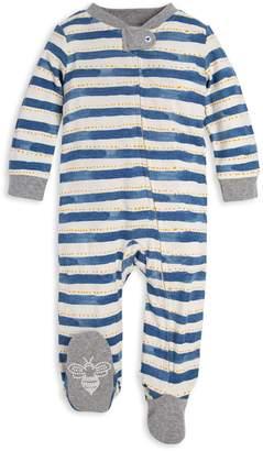 Burt's Bees Painted Stripe Organic Baby Sleep & Play Pajamas