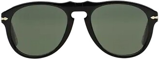 Persol 649 Series Aviator Frame Sunglasses