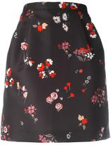 RED Valentino floral print skirt - women - Polyester - 46