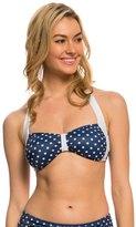 Girl Howdy Girlhowdy Sandy Dots Halter Bikini Top 8137848