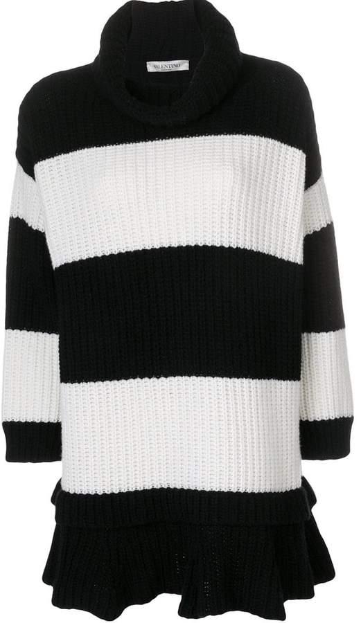 Valentino striped knit dress