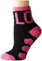 Life is Good Valentine's Day Snuggle Crew Socks