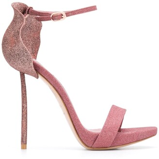 Le Silla 110mm Glitter Stiletto Sandals