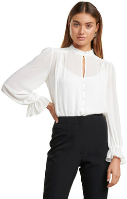 Forever New Xanna Sheer Blouse