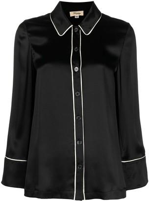 Temperley London Elpis buttoned pyjama shirt
