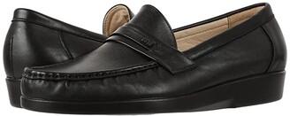 SAS Ace (Black) Men's Shoes