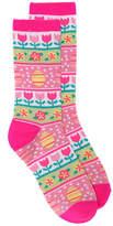 K. Bell Women's Easter Socks Crew Socks