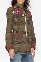 Johnny Was Military Camo Jacket