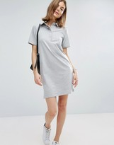 Asos Clean Polo Shirt Dress