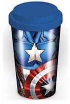 Marvel Captain America Torso Ceramic Travel Mug, Multicoloured