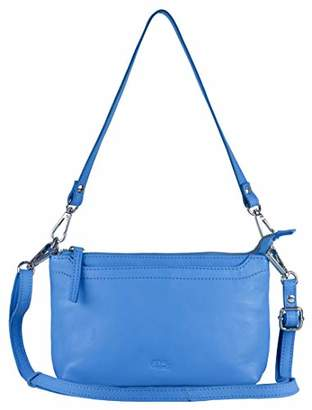 Mou Meraki Genuine Leather Crossbody Purse and Handbags - Crossover Bag Over the Shoulder Women