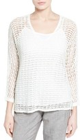 Nic+Zoe Women's Sun Catcher Crochet Top