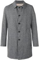 Lardini Rvr - single-breasted coat - men - Linen/Flax/Polyamide/Wool - 48