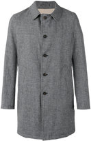 Lardini Rvr - single-breasted coat - men - Wool/Linen/Flax/Polyamide - 48