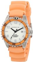 Momentum Womens Quartz Watch, Analogue Classic Display and Rubber Strap 1M-DV07WO1O