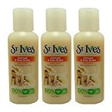 St. Ives Body Wash Oatmeal & Shea Butter Travel Size 3 oz (Pack of 3)