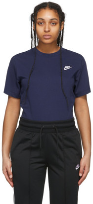 Nike Navy NSW Club T-Shirt