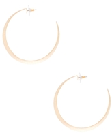 Diamond Dust Gold Hoops