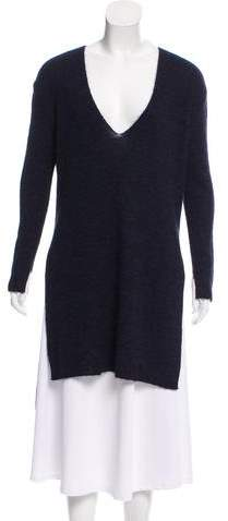 Cédric Charlier V-Neck Knit Tunic w/ Tags
