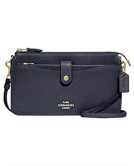 Coach Polished Pebble Pop Up Messenger