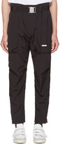 Helmut Lang Black Belted Trousers