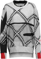 Preen by Thornton Bregazzi Welsh printed French cotton-blend terry sweatshirt
