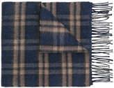 Loewe check scarf