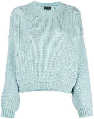 Roberto Collina Chunky-Knit Wool-Blend Jumper