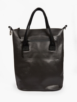 Eytys Black Custom Polyester 'Void' Tote Bag