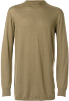 Rick Owens crew neck sweater - men - Cashmere - One Size