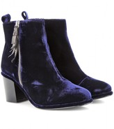 mytheresa.com exclusive Shirley velvet ankle boots
