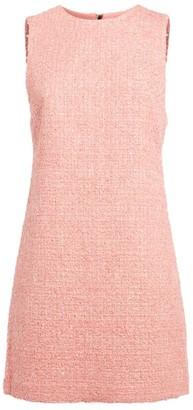 Alice + Olivia Coley Tweed Mini Dress