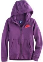 Nike Girls 7-16 Fleece-Lined Zip-Up Hoodie