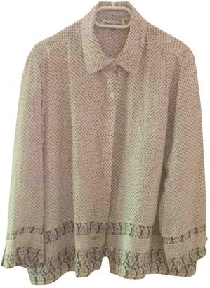 Gerard Darel Beige Silk Top for Women