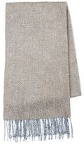 Topman Brown Woven Blanket Scarf
