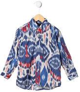 Oscar de la Renta Boys' Ikat Print Shirt