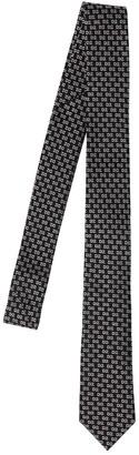 DSQUARED2 D2 Logo Jacquard Silk Tie