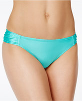 Jessica Simpson Love Me Knot Shiny Hipster Bikini Bottoms