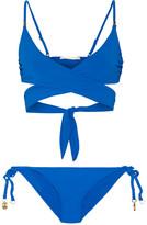 Stella McCartney Wrap Bikini - Royal blue