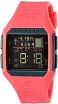Rip Curl Women's 'Maui Mini Tide' Quartz Plastic and Polyurethane Sport Watch, Color:Pink (Model: A1126G-PEA)