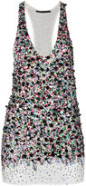 Haider Ackermann beaded vest top - women - Silk/Cotton/Spandex/Elastane - S