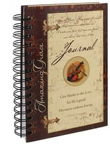"Christian Art Gifts Amazing Grace"" Wirebound Journal"