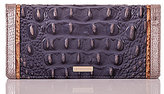 Brahmin Lucca Collection Ady Crocodile-Embossed Wallet
