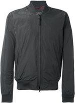 Woolrich zipped bomber jacket - men - Cotton/Polyamide/Polyester - L